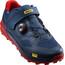 Mavic XA Pro Shoes Men Majolica Blue/Majolica Blue/Fiery Red